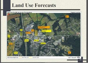 Land Use Forecast in River Hill