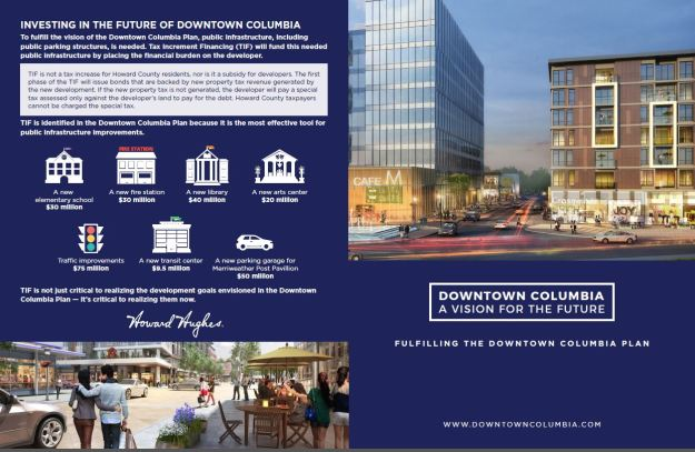 Downtown Columbia Presentation Page 1